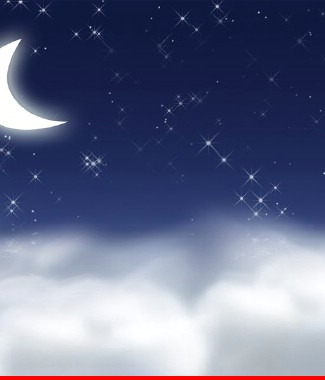 Hình ảnh Tranh dán tường bầu trời CL043