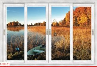 Hình ảnh Tranh dán tường cửa sổ CS0124