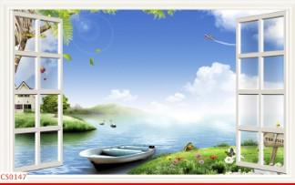 Hình ảnh Tranh dán tường cửa sổ CS0147