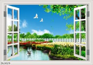 Hình ảnh Tranh dán tường DL0029