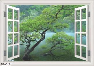 Hình ảnh Tranh dán tường DZ0016