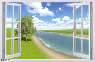 Hình ảnh Tranh dán tường DZ0021