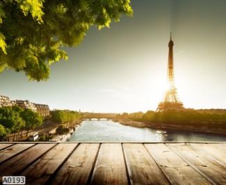 Hình ảnh Tranh dán tường phong cảnh A0193