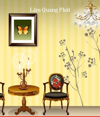 Hình ảnh Tranh dán tường style m-097