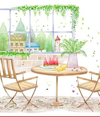 Hình ảnh Tranh dán tường style ri-004