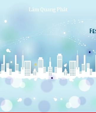 Hình ảnh Tranh dán tường thành phố mi-004