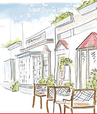 Hình ảnh Tranh dán tường thành phố r-036