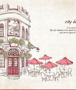 Hình ảnh Tranh dán tường thành phố si-052