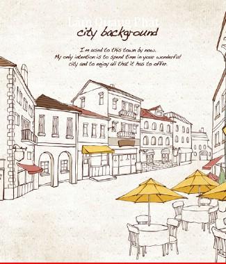 Hình ảnh Tranh dán tường thành phố si-056