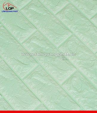 Hình ảnh Xốp đá dán tường 3D màu xanh ngọc